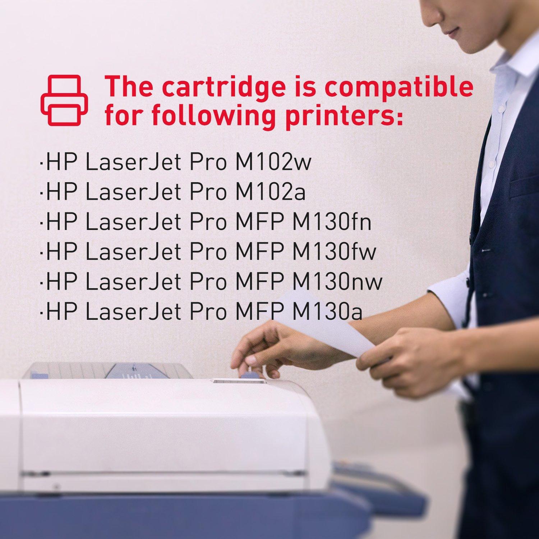 Promo Hp 17a Black Original Laserjet Toner Cartridge Terbaru 2018 Aigner A24206e Lemero Replacement For Cf217a With Chip Compatible Pro M102w