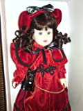 Victorian Collection: Genuine Porcelain Doll By Melissa Jane, Limited Collector's Edition with Certificate of Authenticity and Stand