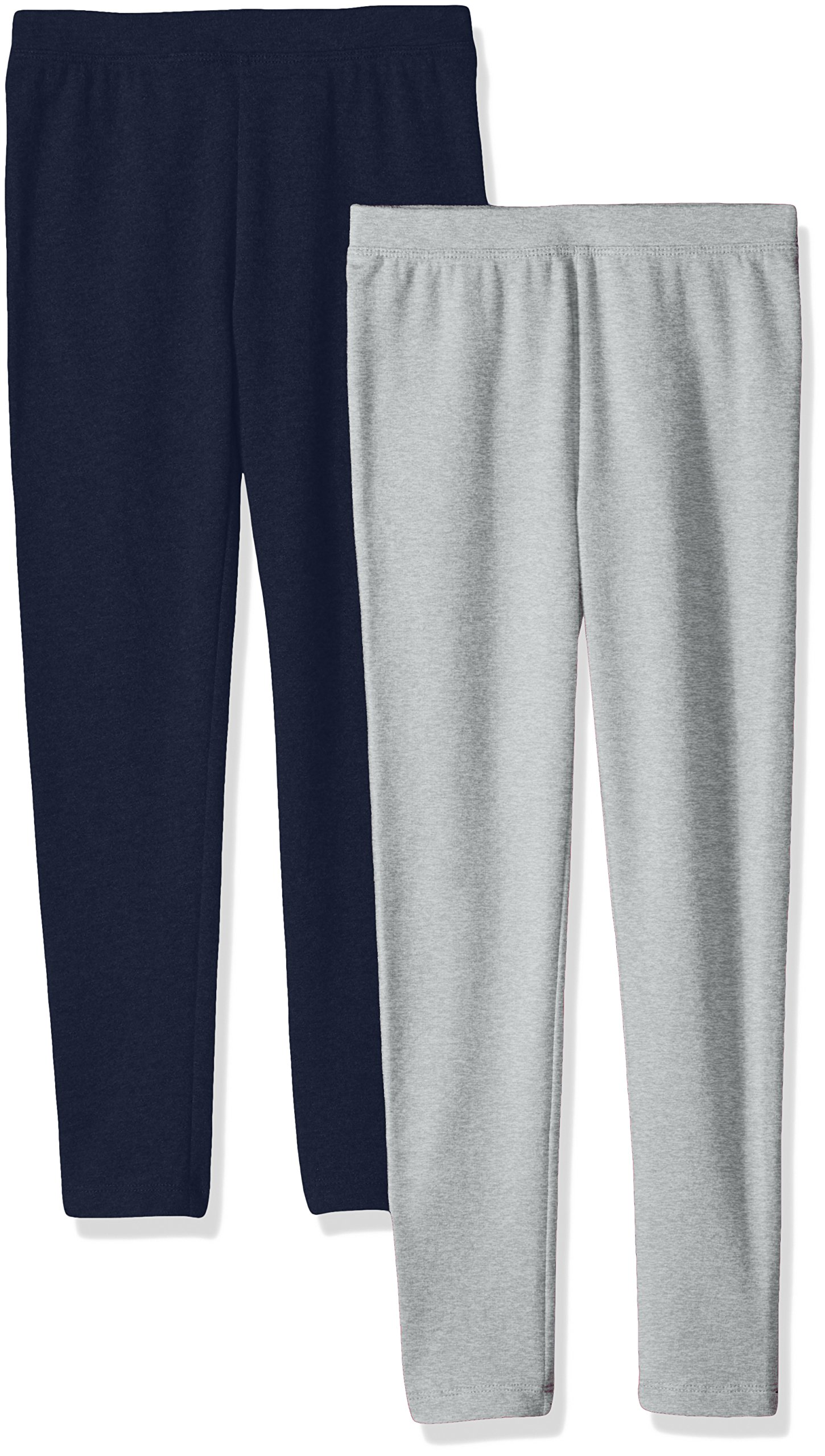 Amazon Essentials Girls 2-Pack Cozy Leggings