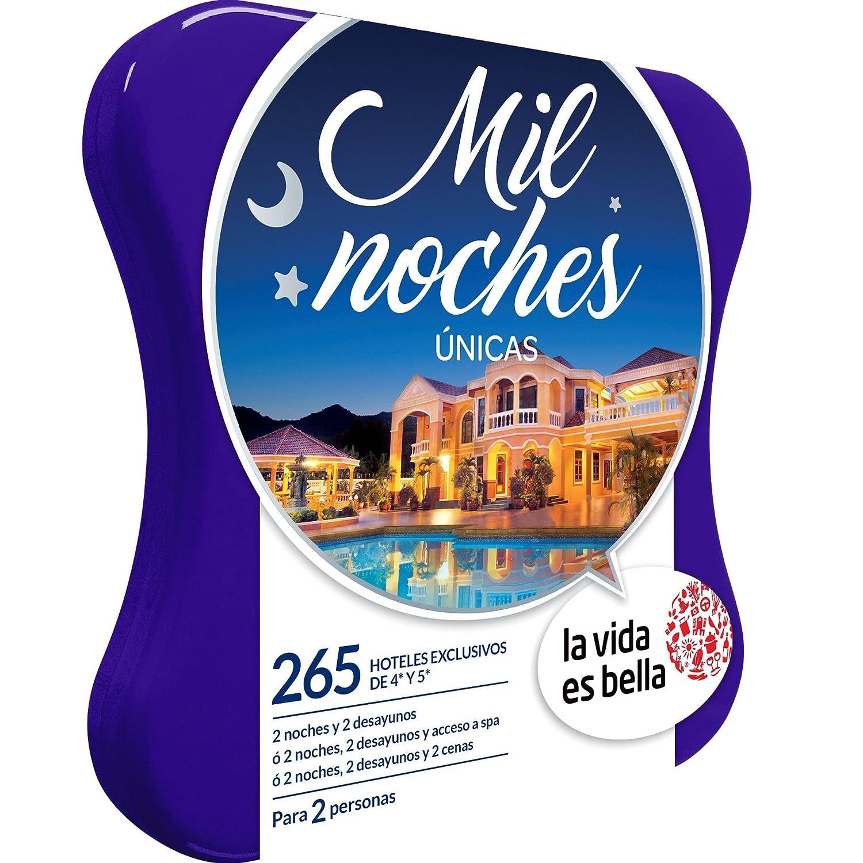 LA VIDA ES BELLA - Caja Regalo - MIL NOCHES ÚNICAS - 280 hoteles exclusivos de 4 y 5*: Amazon.es: Deportes y aire libre