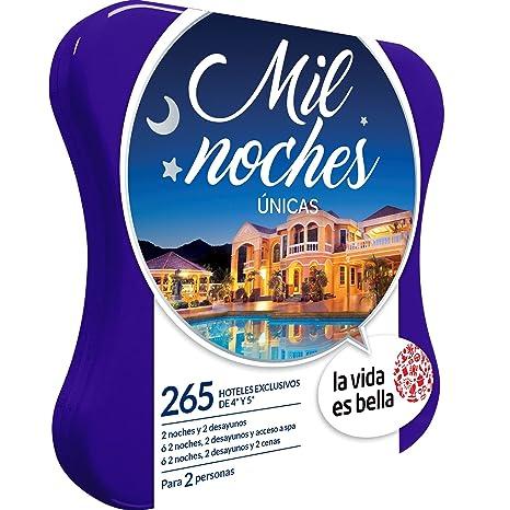 LA VIDA ES BELLA - Caja Regalo - MIL NOCHES ÚNICAS - 280 hoteles exclusivos de