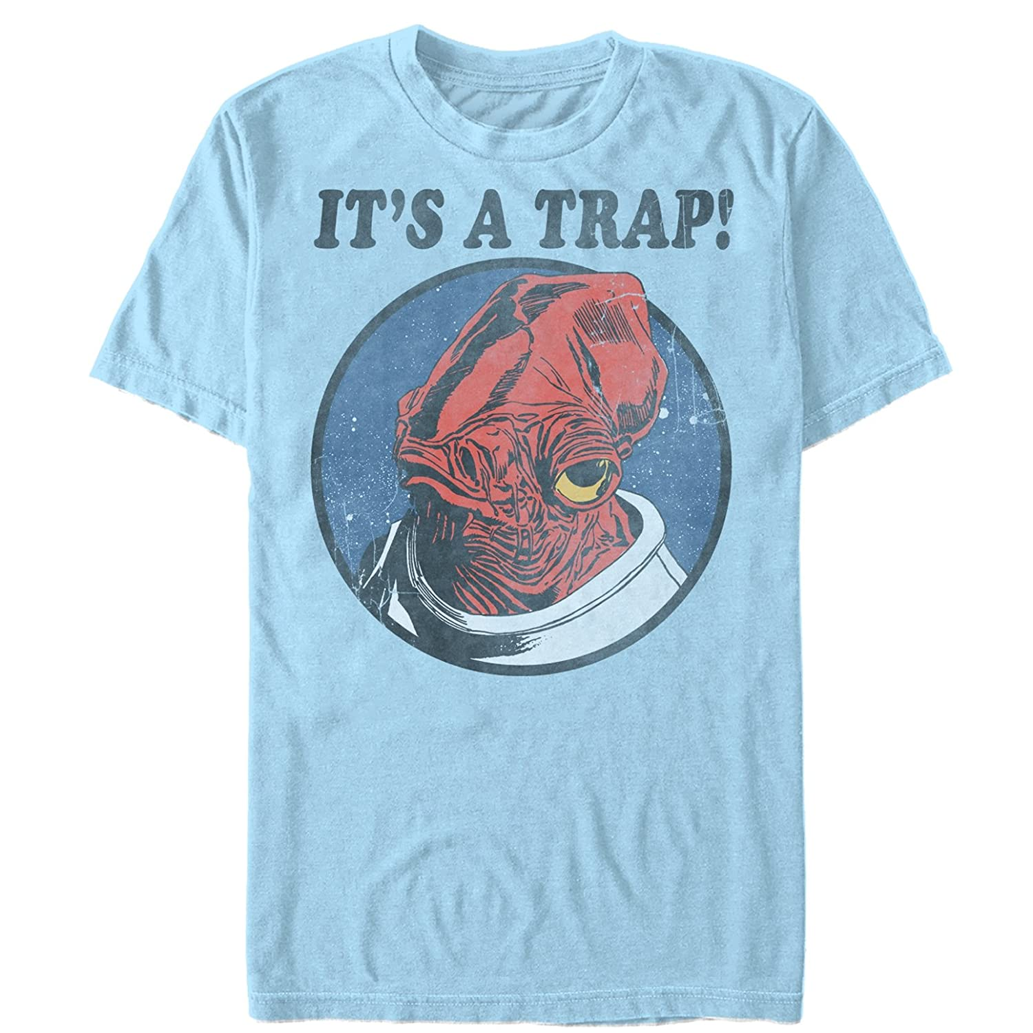 Star Wars Men's It's a Trap Admiral Ackbar T-Shirt