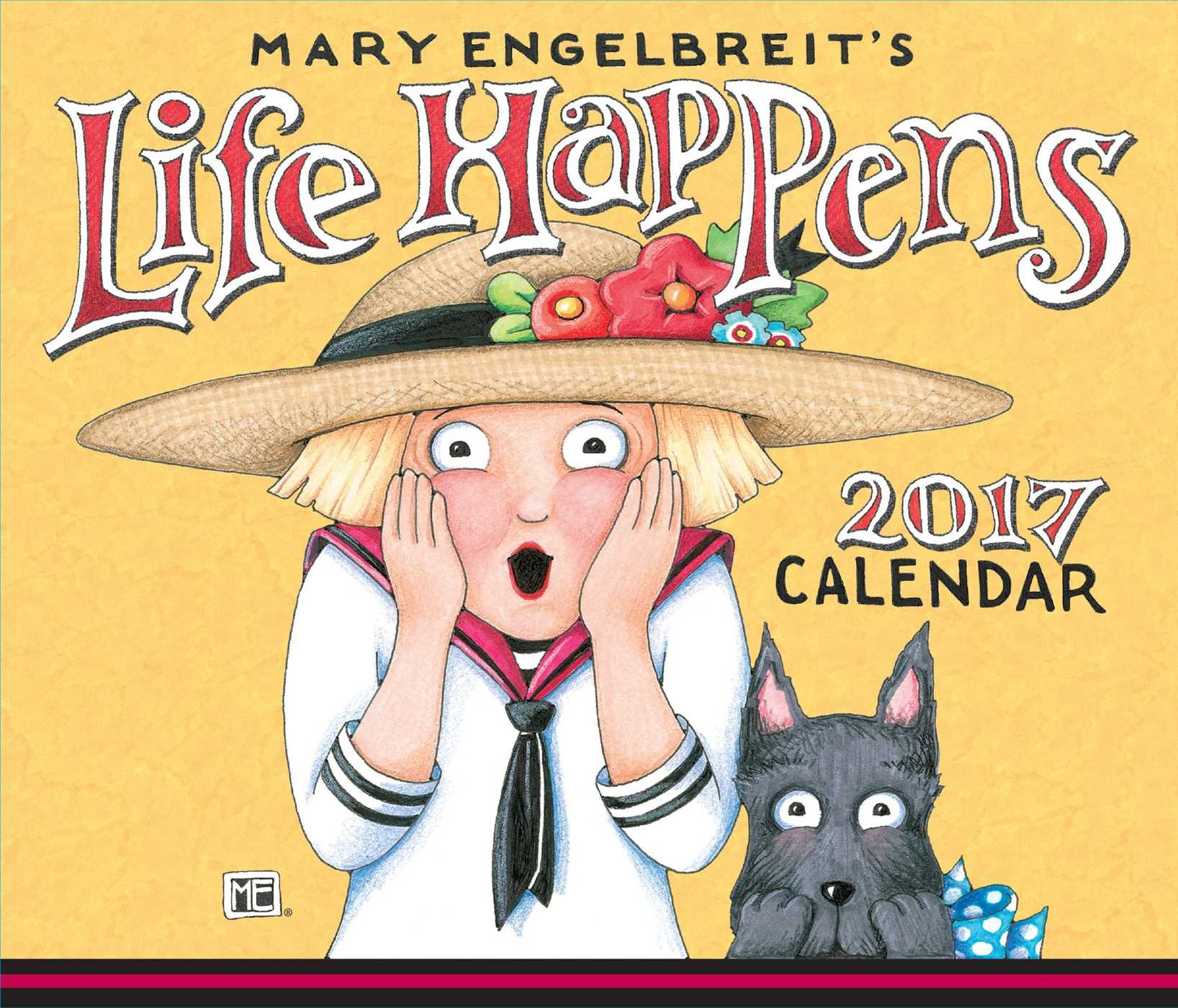 Mary Engelbreit 2017 Day Calendar