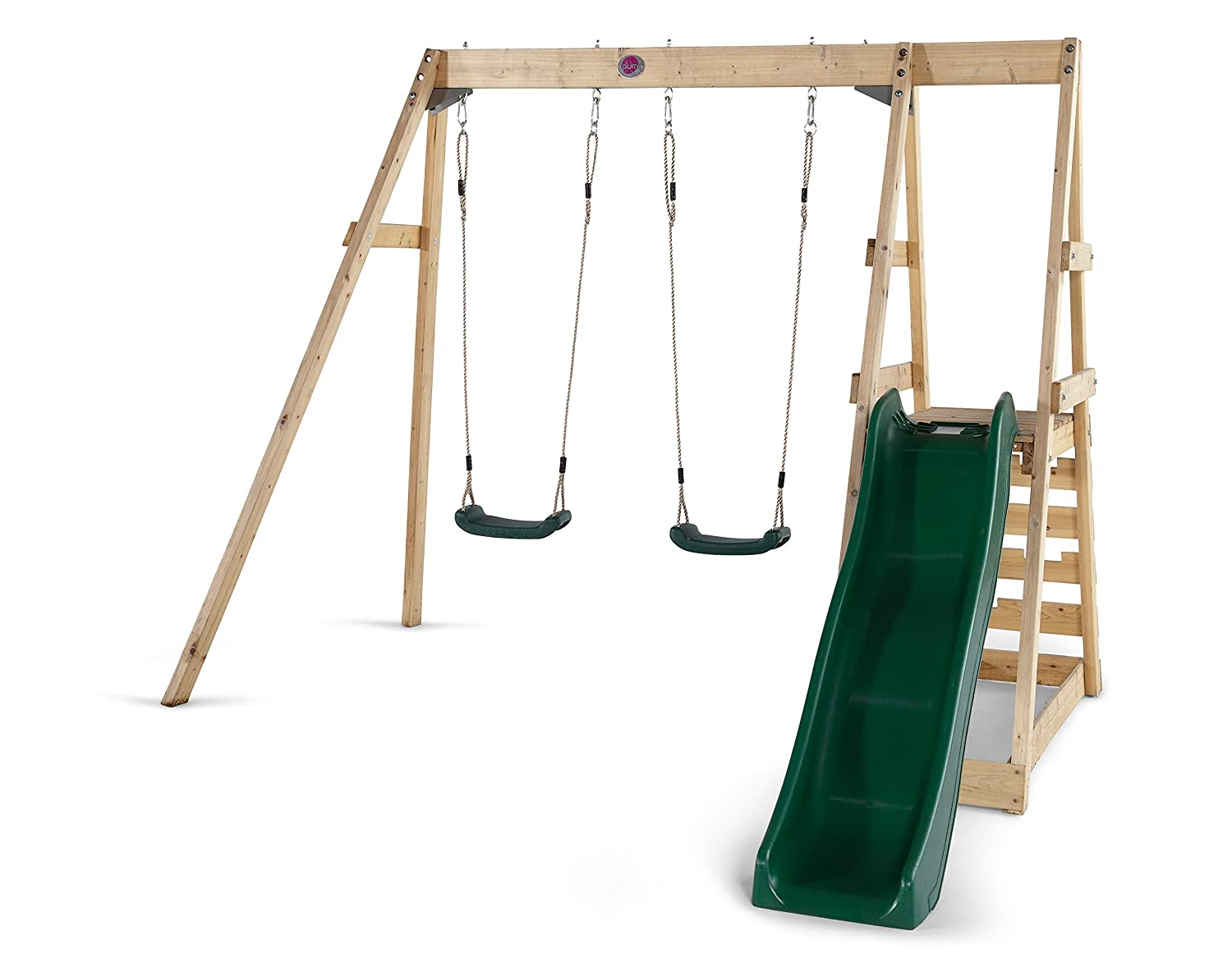 Plum Tamarin Wooden Swing And Slide Playcentre