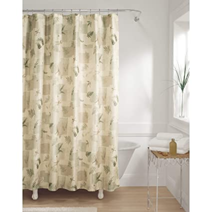 Image Unavailable Not Available For Color MAYTEX Julia Fabric Shower Curtain