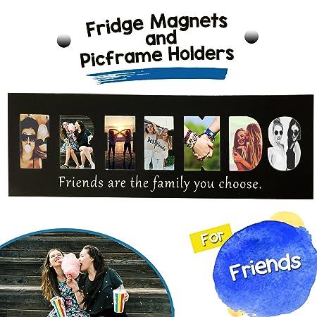 Amigos imanes de nevera - Soporte magnético marco de fotos ...