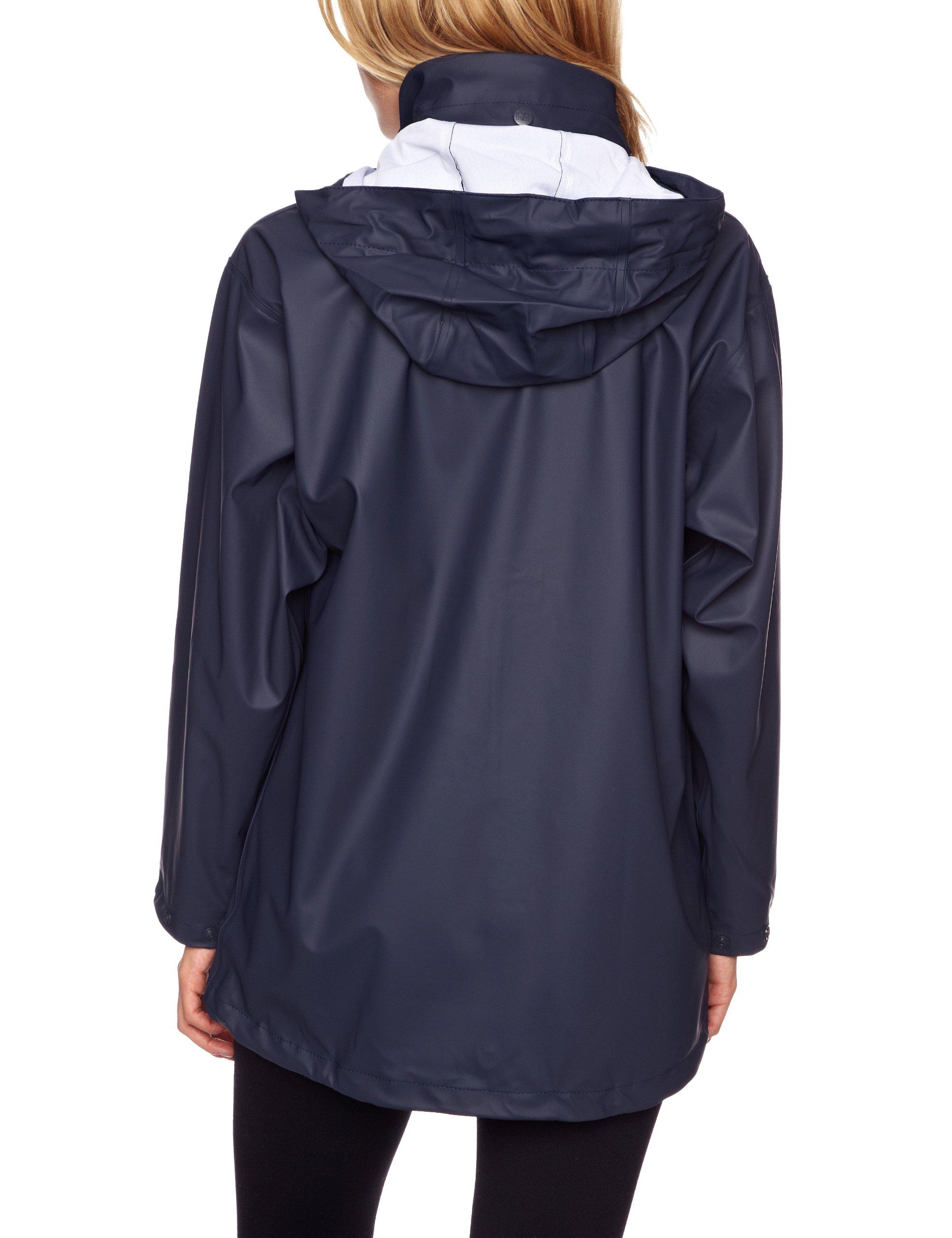 Helly Hansen Women's Voss Windproof Waterproof Rain Jacket, 590 Classic Navy, Medium