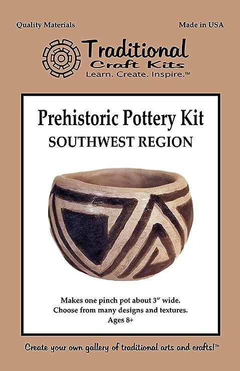 Amazon com : Prehistoric Pottery Kit - Southwest Region
