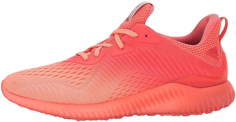 adidas Women's Alphabounce Em W Running Shoe B01MROSQKB 6.5 B(M) US|Easy Coral/Sun Glow/Grey One