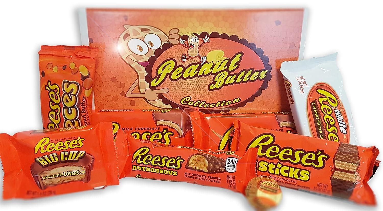 Reeses Schokolade Geschenkkorb | 8 verschiedene US amerikanische ...