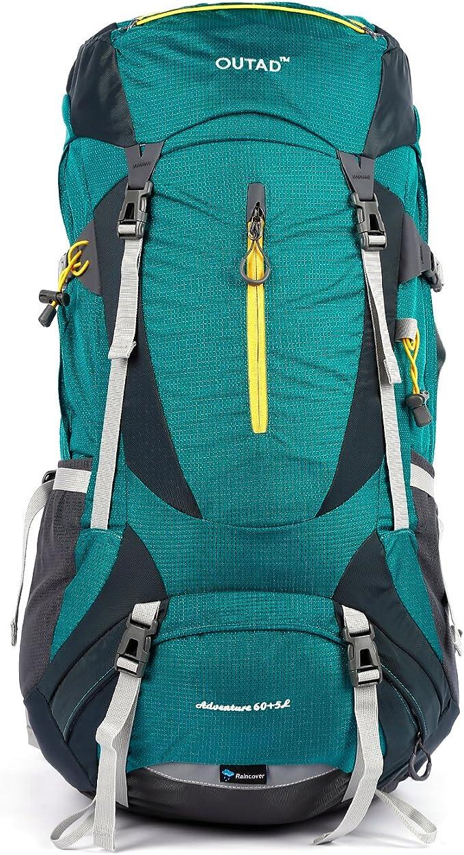 OUTAD Backpack Rucksack für Sport Freizeit Reise Schule Outdoor Wasserdichte