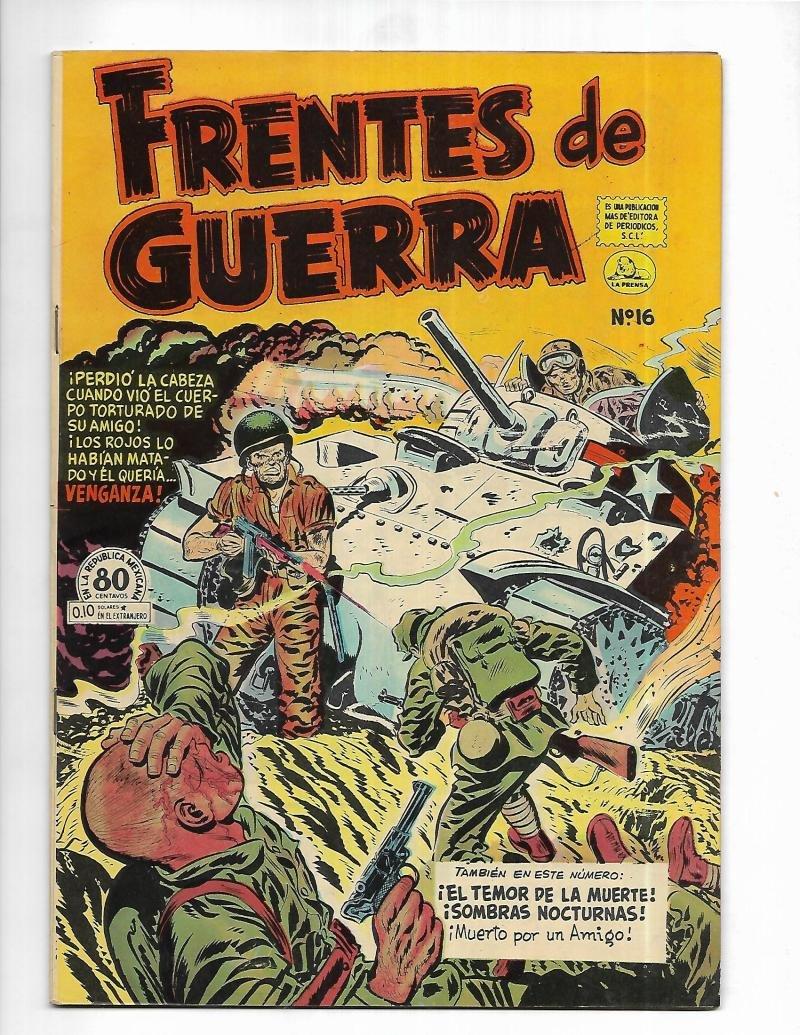 Amazon.com: Frentes De Guerra #16 1954 Spanish Tank Cover: Entertainment Collectibles