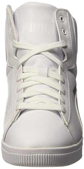 87cd42e27a701a Puma Vikky Wedge L Fs Sneaker Donna, Bianco/Argento, 37 EU: Amazon.it:  Scarpe e borse