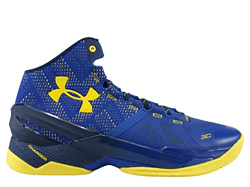 best cheap 4fdd8 498a6 Under Armour Men's Curry 2 Cobalt Blue/Academy-Taxi Yellow 1259007-422 Shoe