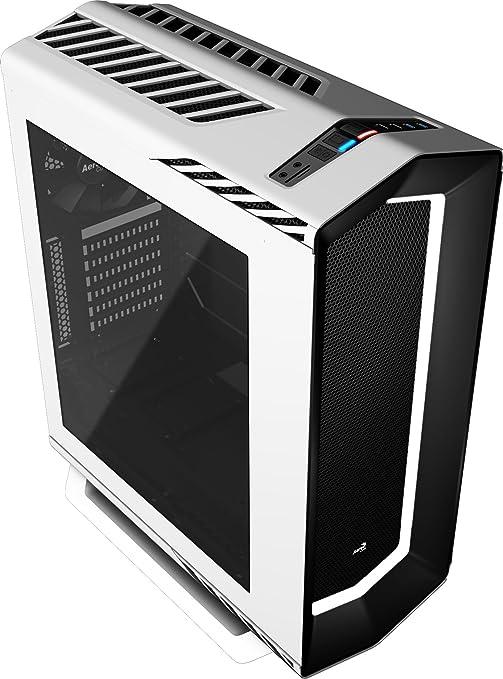 Aerocool P7C1WH - Caja gaming para PC (ATX, Semitorre, LED 8 ...