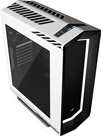 Aerocool P7C1WH - Caja gaming para PC con iluminación LED 8 colores, color blanco: Aerocool: Amazon.es: Informática
