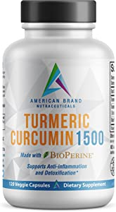 Turmeric Curcumin 1500 with 95% Extract and BioPerine® (black pepper) for optimized absorption. Natural Veggie caps provide 60 high-dose servings. Give up NSAIDS and choose a healthy alternative