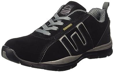 Groundwork GR86 S, Chaussures de sécurité mixte adulte, Noir / Gris, 39.5 EU