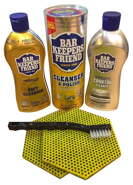 Bar Keepers amigo Kit de limpieza | pico, líquido limpiador ...