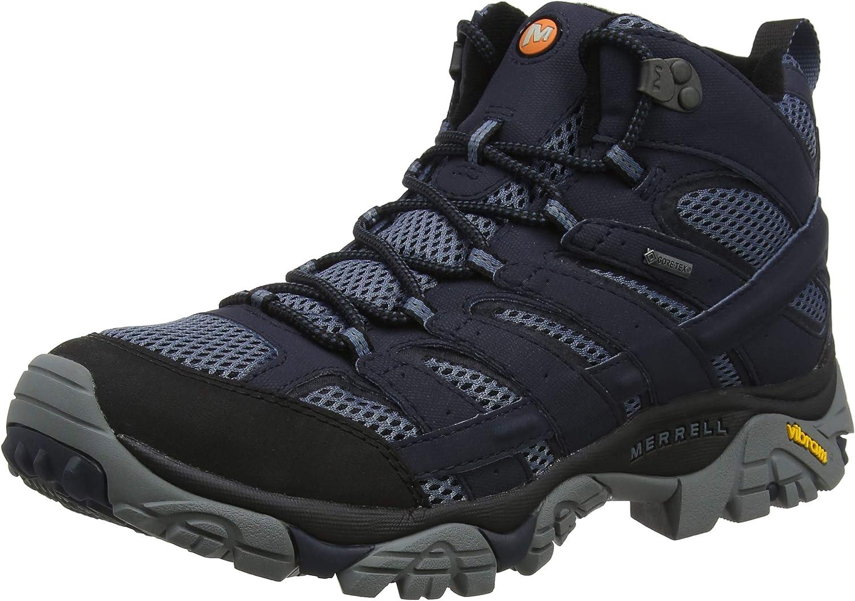 Merrell Moab 2 Mid GTX, Botas de Senderismo Hombre: Amazon.es: Zapatos y complementos