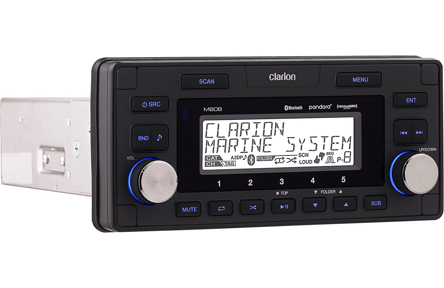 Amazon.com: Clarion M608 Marine In-Dash 4-zone SIRIUS/XM-ready Digital  Media Receiver with Bluetooth: Cell Phones & Accessories