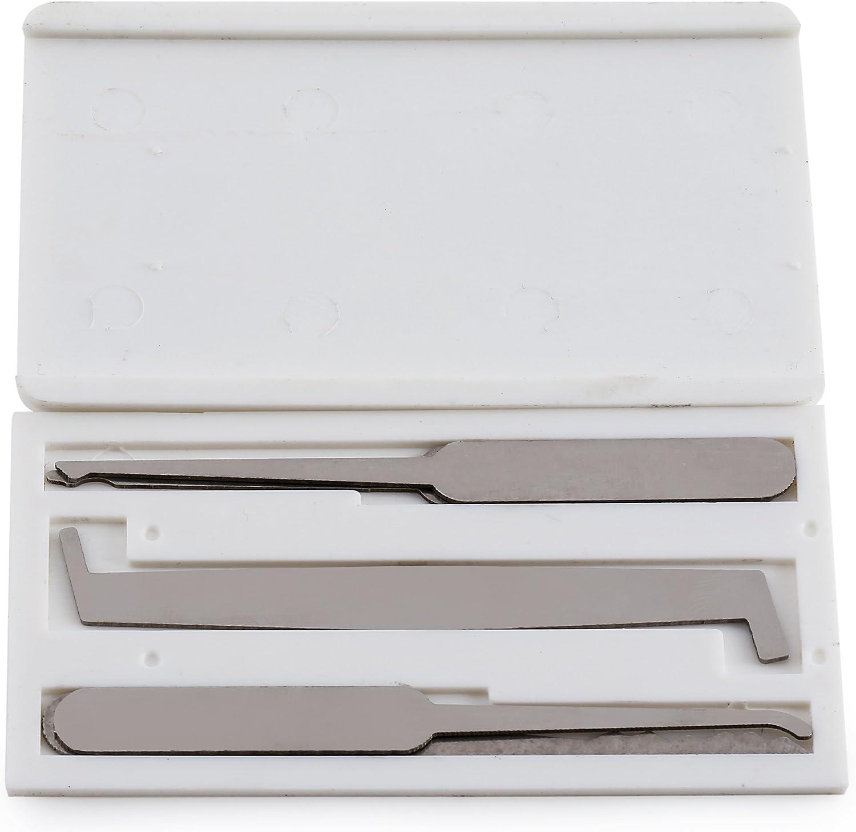 Set im Kreditkarten Stil Schlosser Werkzeug Dietrich für die Ausbildun