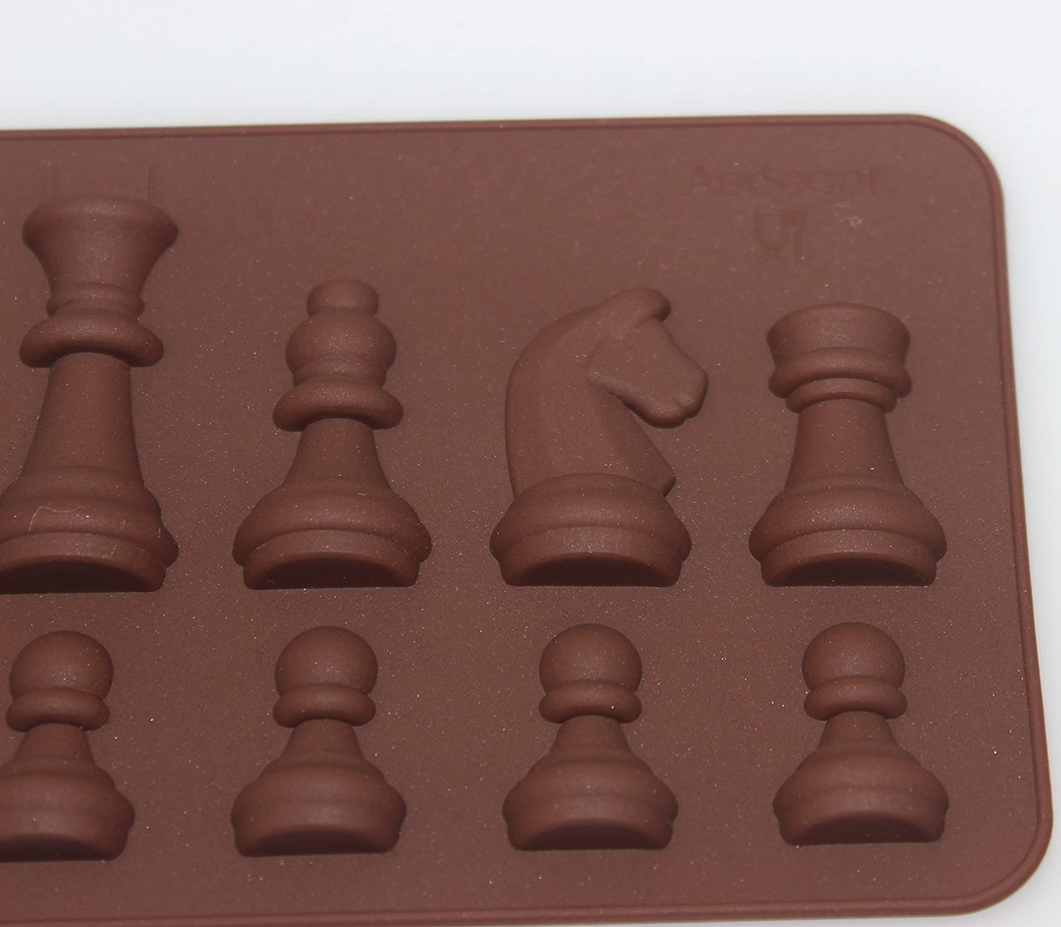 Amazon.com: Tifan Silicone Chess Pieces Chocolate Candy Mold with ...
