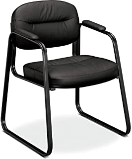 Amazon.com: HON Pillow-Soft Guest Chair with Fixed Arms ...
