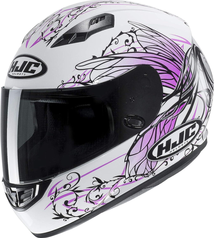 HJC Pink CS-15 Naviya Motorcycle Helmet