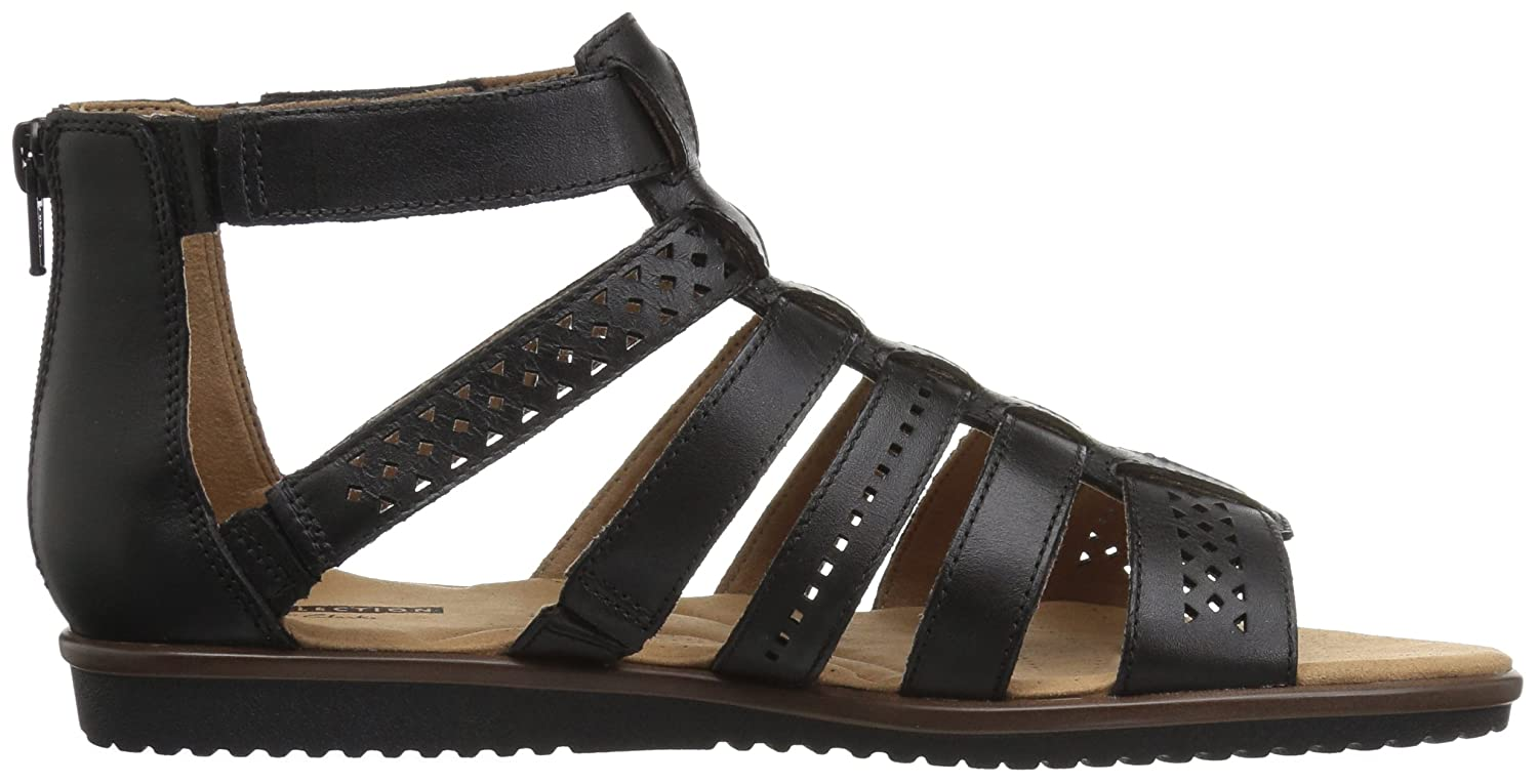 2ed212a3db0f Amazon.com  CLARKS Women s Kele Lotus Gladiator Sandal  Shoes
