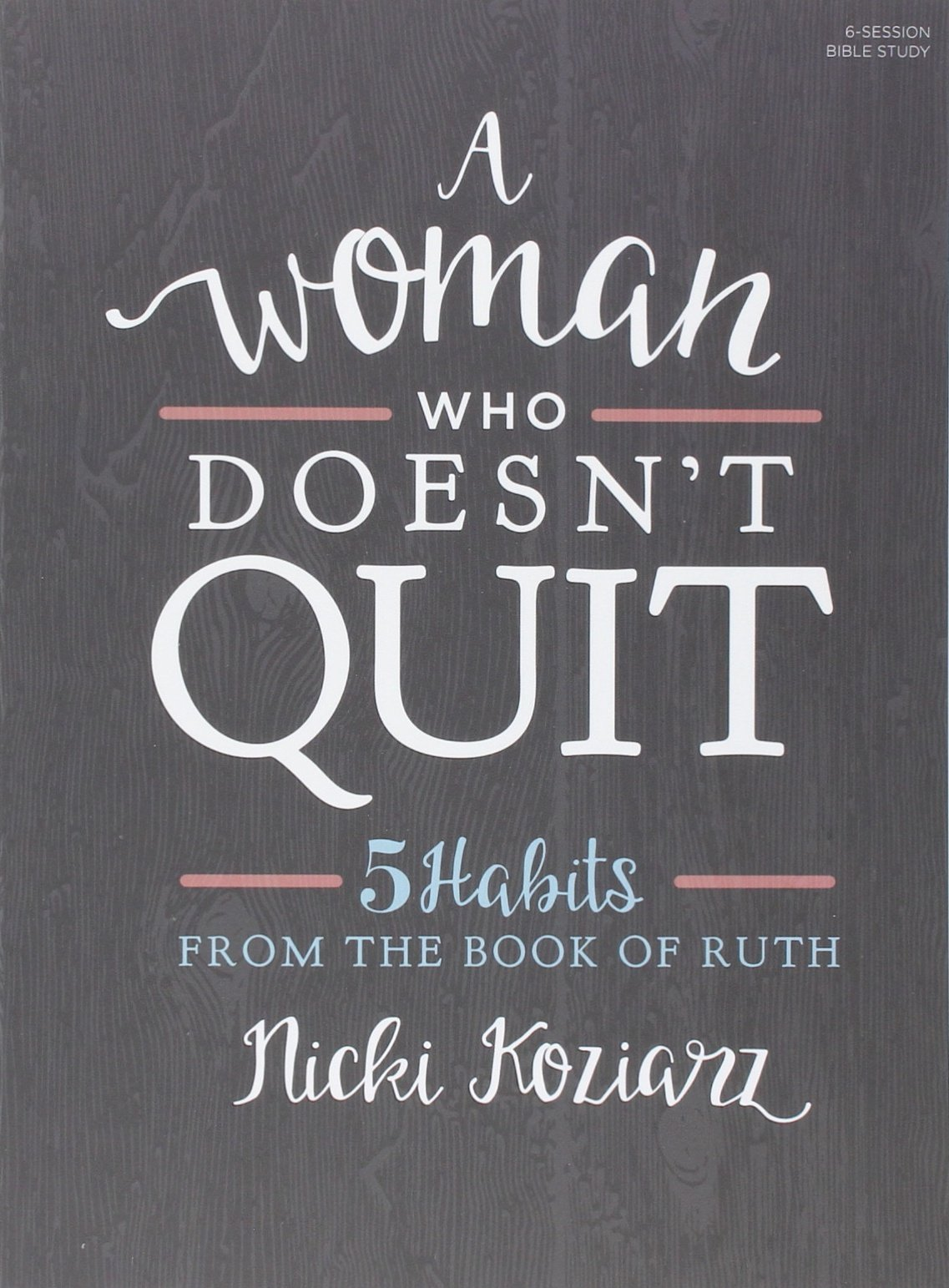 Woman Who Doesnt Quit Habits