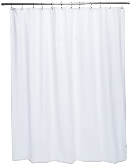 Ex Cell Pierce Fabric Microfiber Shower Curtain Liner 70 By 72 Inch