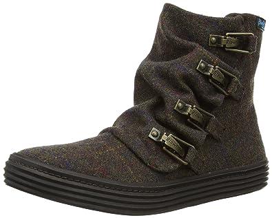 Blowfish Womens Ohmy Boots BF4214 Brown Tweed 5 UK 801c750b18