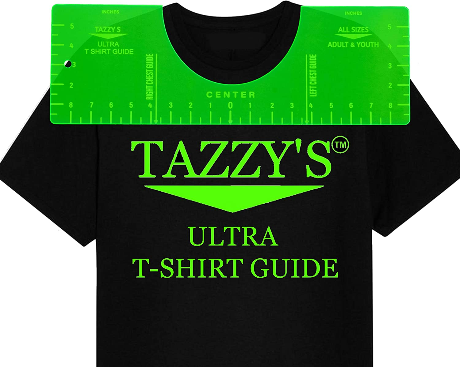 Amazon Com Tazzy S Ultra T Shirt Guide T Shirt Ruler Tshirt Alignment Tool Tee Shirt Ruler Guide For Vinyl Tshirt Ruler For Vinyl Alignment Heatpress Htv Svg