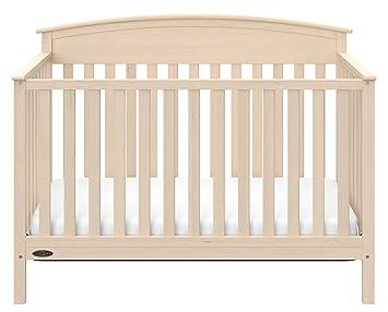 Graco Benton 5 In 1 Convertible Crib, Whitewash