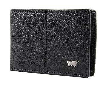 fc6d9f1136a8e9 Braun Büffel Varese Wallet XS Black: Amazon.de: Koffer, Rucksäcke ...