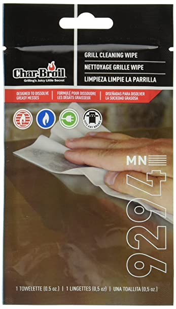 Amazon.com : Char-Broil Simply Soy Grill Wipes : Grill Accessories : Garden & Outdoor