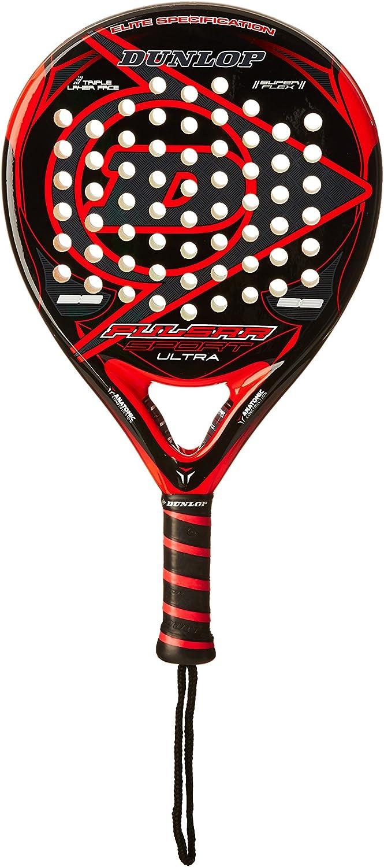 Dunlop Pala Pádel Pulsar Sport Ultra Negro/Rojo Única: Amazon.es ...