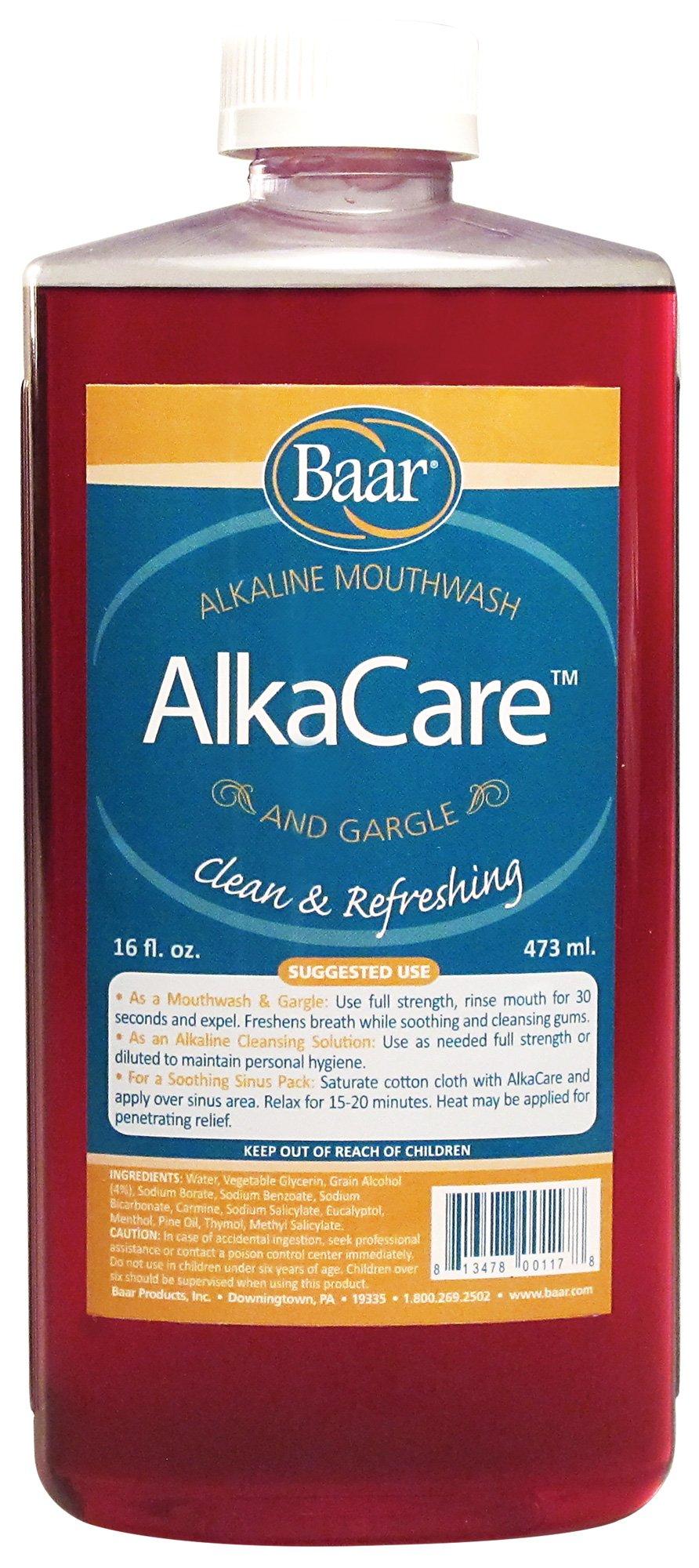 AlkaCare Mouthwash & Gargle, 16 Oz.