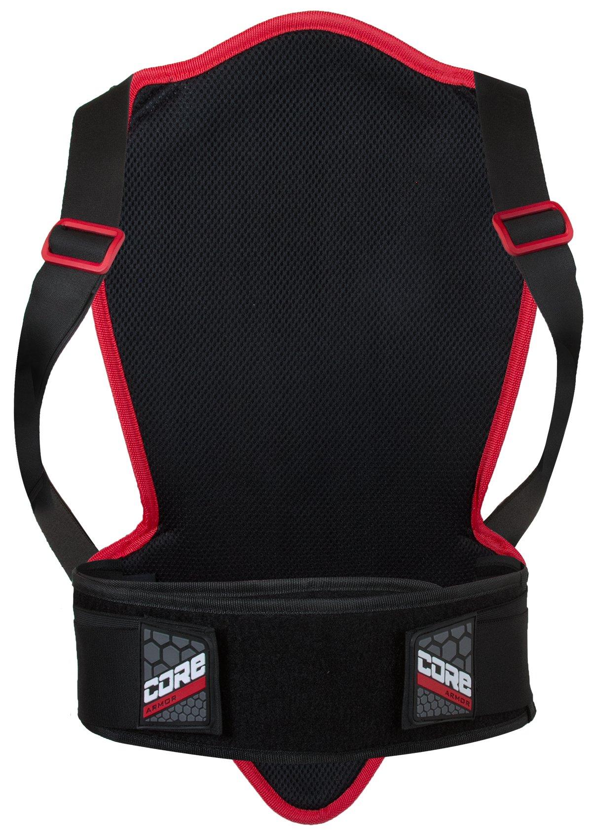 Pilot Core Motorcycle Back Protector V2 (Black, 420mm)