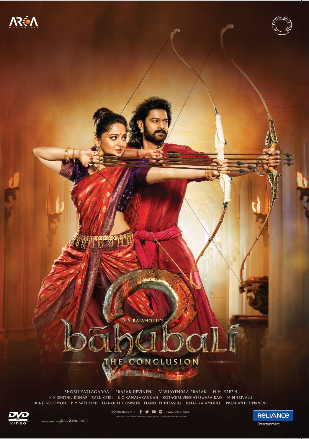 Amazonin Buy Bahubali 2 The Conclusion Dvd Blu Ray Online At