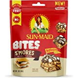 Sun-Maid Smores Bites- Kids Snacks, On-the-Go Bites, Whole Fruit, Whole Grains & Nuts-3oz