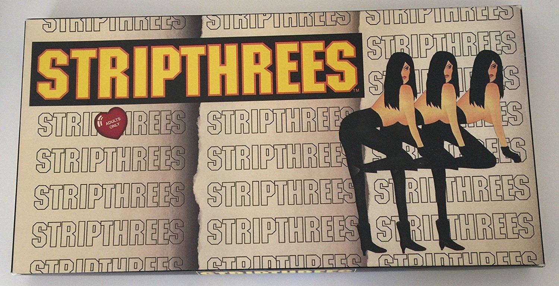 Stripthrees board Game