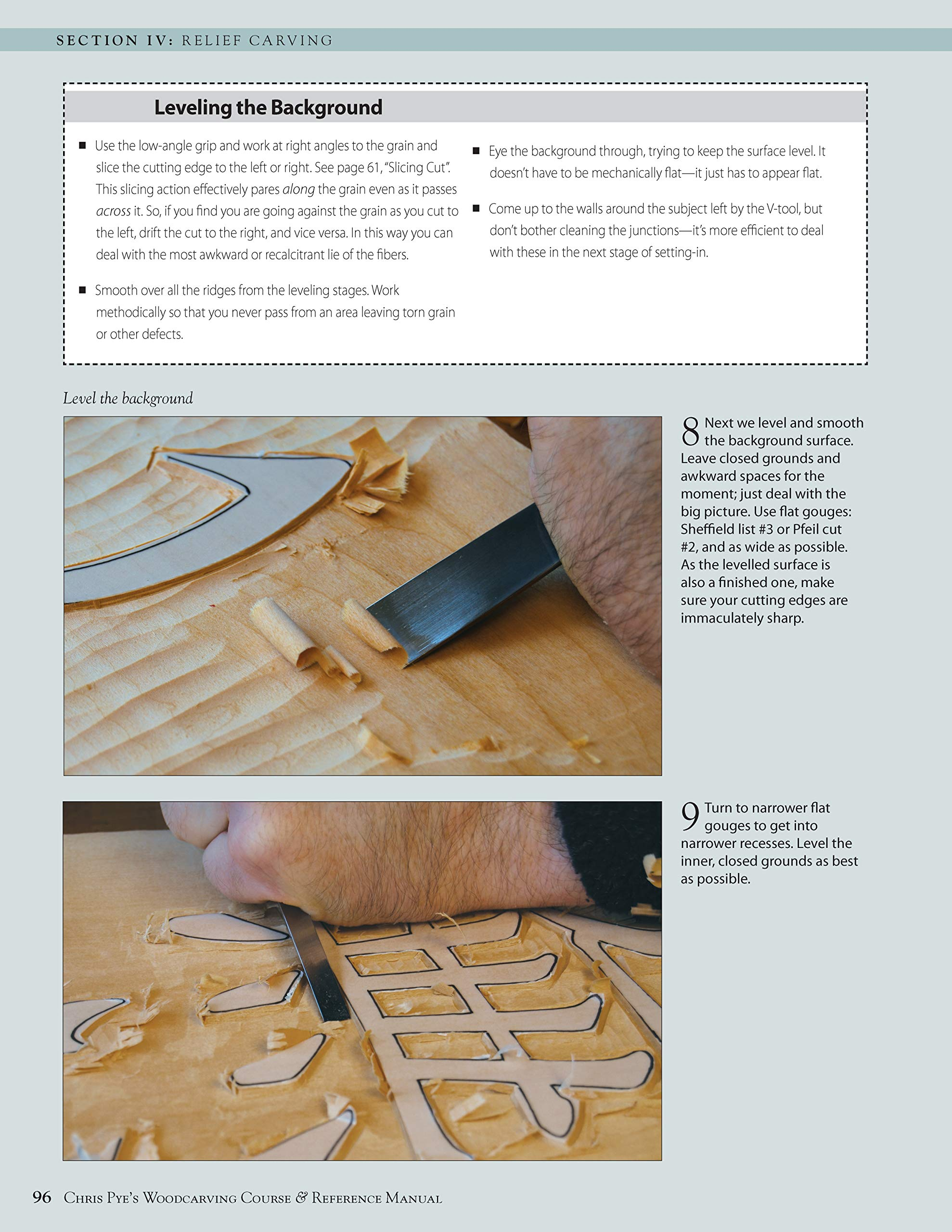 Chris Pye's Woodcarving Course & Reference Manual: A