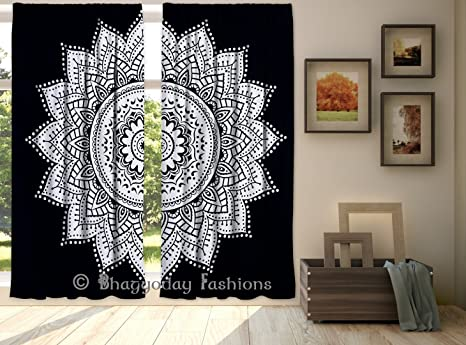 Tende Per Finestra Grande : Esclusiva indiano hippie ombre mandala arazzo da parete grande