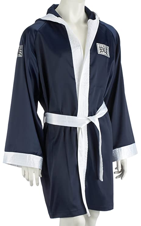 BENLEE Rocky Marciano Hooded - Bata de boxeo para mujer, color Azul Marino, talla