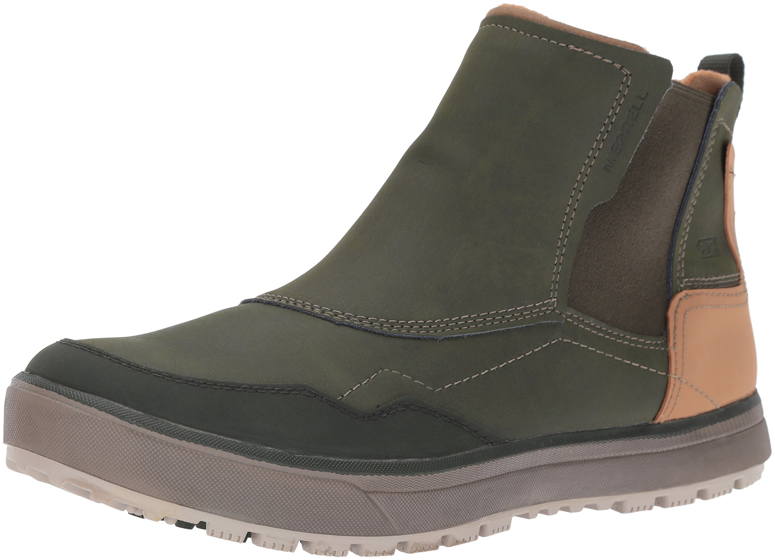 Merrell Men's Turku Chelsea Waterproof Winter Boot, Rosin, 9.5 M US