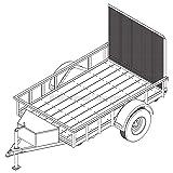 5′ x 8′ Utility Trailer Plans - 3,500 lb