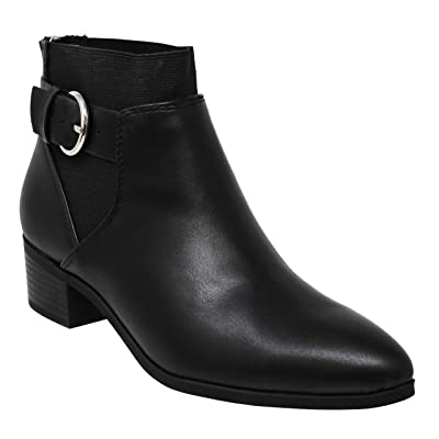 MVE Shoes Women Stylish Soda Zip Up Pointed Toe Ankle Boot | Ankle & Bootie