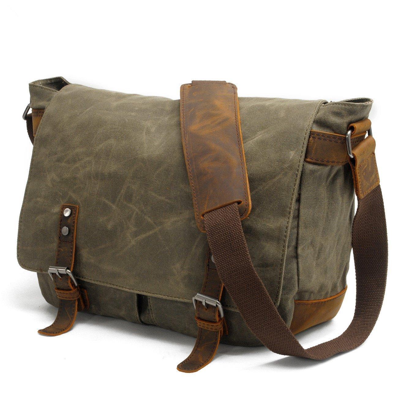 etc. Tablet 15 Messenger Bag with shoulder strap fabric satchel for Laptop